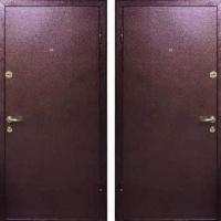 Входная дверь с порошковым напылением с 2-х сторон