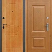Железная дверь МДФ с 2-х сторон