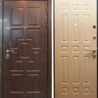 Входная дверь МДФ с 2-х сторон