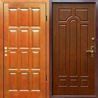 Стальная дверь с МДФ и массивом дуба