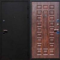 Металлическая дверь с шумоизоляцией с порошковым напылением и МДФ