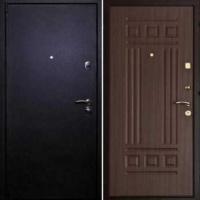 Железная дверь с шумоизоляцией с порошковым напылением и МДФ