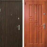 Входная дверь с шумоизоляцией с ламинатом и МДФ