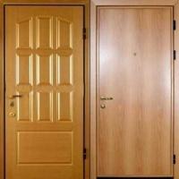 Стальная дверь с шумоизоляцией с МДФ с 2-х сторон