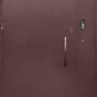 Стальная дверь в подъезд с порошковым напылением с 2-х сторон