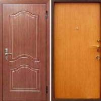 Входная дверь с ламинатом и МДФ