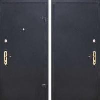 Стальная дверь в коттедж с порошковым напылением с 2-х сторон