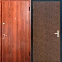 Входная дверь для дачи с ламинатом и винилискожей