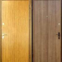 Стальная дверь в квартиру с ламинатом с 2-х сторон