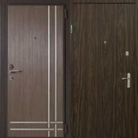 Металлическая дверь с ламинатом с 2х сторон