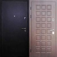 Железная дверь эконом класса с порошковым окрасом и МДФ