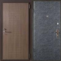 Железная дверь эконом класса с МДФ и винилискожей