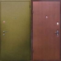 Входная дверь с порошковым окрасом и ламинатом