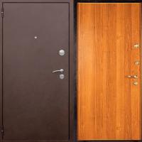 Стальная дверь с порошковым окрасом и ламинатом