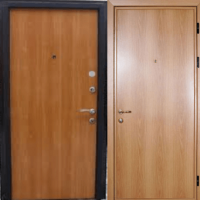 Входная дверь с ламинатом с 2-х сторон