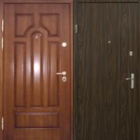 Входная дверь с МДФ и ламинатом