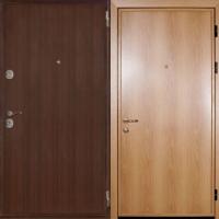 Металлическая дверь с ламинатом с 2-х сторон