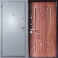Металлическая дверь с порошковым напылением и ламинатом