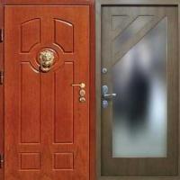 Входная дверь с МДФ с 2-х сторон с зеркалом