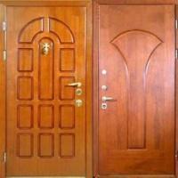 Железная дверь с МДФ с 2-х сторон