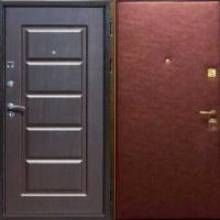 Стальная дверь с МДФ и винилискожей гладкой