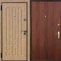 Стальная дверь с МДФ и ламинатом