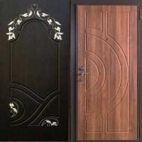 Стальная дверь с МДФ с 2-х сторон