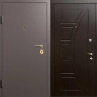 Стальная дверь с порошковым напылением и МДФ