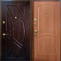 Металлическая дверь с МДФ с 2-х сторон