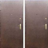 Железная дверь с порошковым напылением с 2-х сторон