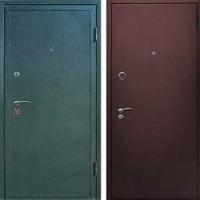 Стальная дверь с порошковым напылением с 2-х сторон