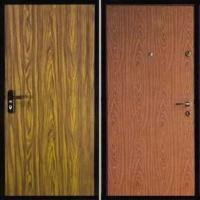 Стальная дверь с ламинатом с двух сторон