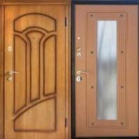 Металлическая дверь в частный дом с МДФ с 2-х сторон
