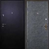 Стальная техническая дверь с порошковым напылением и винилискожей гладкой