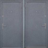 Стальная техническая дверь с порошковым окрасом и порошковым окрасом
