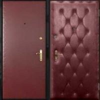 Металлическая дверь в квартиру с винилискожей с 2-х сторон