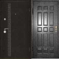 Железная дверь в квартиру с порошковым напылением и МДФ