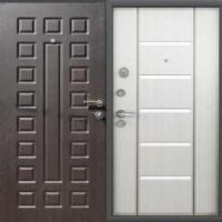 Железная дверь в квартиру с МДФ с двух сторон