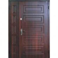 Металлическая дверь в подъезд с МДФ с 2-х сторон