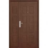 Стальная дверь в подъезд с МДФ с двух сторон