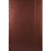 Металлическая дверь в подъезд с порошковым окрасом с двух сторон