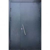 Железная дверь в подъезд с НЦ покрасом с двух сторон
