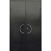 Железная тамбурная дверь с НЦ покрасом с двух сторон