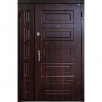 Входная тамбурная дверь с МДФ с двух сторон