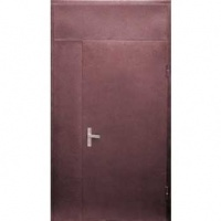 Железная тамбурная дверь с порошковым напылением с двух сторон