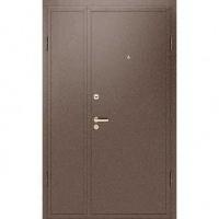 Входная тамбурная дверь с порошковым напылением с двух сторон