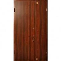 Стальная тамбурная дверь с ламинатом с двух сторон