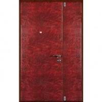 Металлическая тамбурная дверь с винилискожей с 2-х сторон