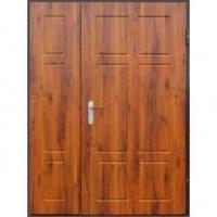 Металлическая тамбурная дверь с МДФ с двух сторон