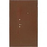 Стальная тамбурная дверь с порошковым напылением с двух сторон